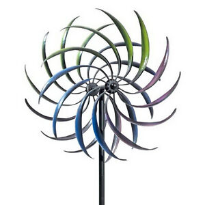 Wind Spinner Rainbow Wind Spinners Lawn Windmill Patio Decoration Arts