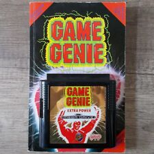 Sega Mega Drive ► Game Genie-Extra Power trampas & libro ◄ rar