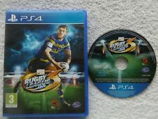RUGBY LEAGUE LIVE 3 PS4 V.G.C. FAST POST ( sports/rugby simulation game )
