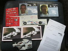 Ford / Stewart Formula One Racing Factory Packet from England Hsbc 1997