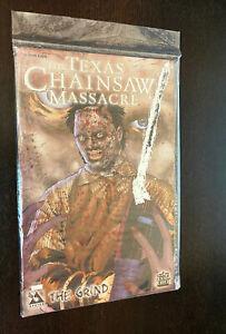 TEXAS CHAINSAW MASSACRE #1 (Avatar 2006) -- Limited PLATINUM FOIL Variant SEALED