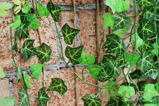 7.8ft Fake Silk Ivy Artificial Flowers Green Leaves Foliage Garland Decoration