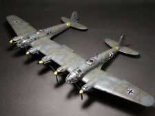 Giant 1/14 Scale Heinkel He111z Zwilling Plans,Templates