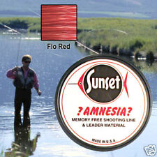 AMNESIA MEMORY FREE FISHING LINE 10 LB RED SS06410