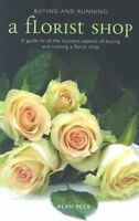 Buying and Running a Florist Shop by Alan Peck Paperback Book The Cheap Fast