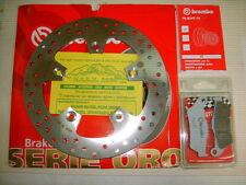 KIT DISCO FRENO BREMBO+PASTIGLIE POSTERIORE KTM 950 SUPERMOTO R 07 > 08 7F1