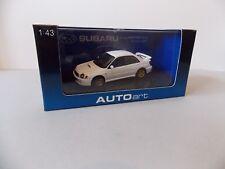 Autoart Subaru New Age Impreza WRX STI 2001 White,58641