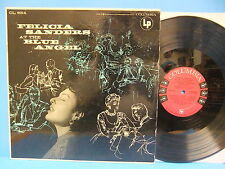 Felicia Sanders At The Blue Angel 1955 Mono Record Columbia CL 654 Jazz Vocal