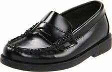 Boys Sperry Black Penny Loafer Youth Size 13 NARROW