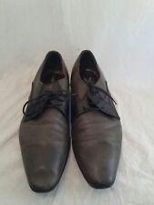 All saints mens grey leather brogue men lace shoes uk 41 ref ba10