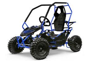 Nitro Motors Eco Gokart CROSSER 1000W 36V 2-Stufen Drossel Kinderbuggy Quad