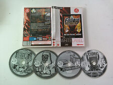 Fallout Tactics (+ bonus mission disk with pen and paper skirmish game) PC FR