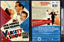 DVD Busby Berkeley VARSITY SHOW Dick Powell Fred Waring Ted Healy FS R1 OOP NEW
