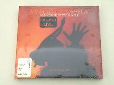 VINICIO CAPOSSELA- NEL NIENTE SOTTO IL SOLE- CD+DVD DIGIPACK 2006 - NUOVO/NEW DP