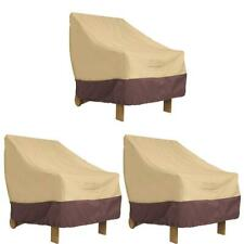 Waterproof Chair Cover Lawn Patio Furniture Oxford Cloths Protective Covers