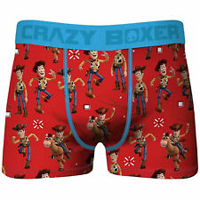 Crazy Boxers Disney Toy Story Woody Men's Boxer Briefs Red