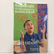 Gospel Light Winter 2017-2018 Elementary Teacher Guide w/CD-ROM Grades 3-4 Yr C