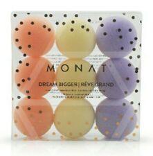 Monat Dream Bigger, Set of 9 Foam Macaron Sleep Rollers Hair Curler New in Box