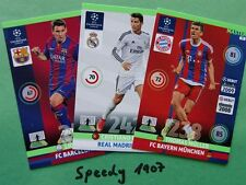 Champions League 2015 all 25 Master komplett complete  Panini Adrenalyn 14 15