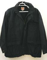Vtg Banana Republic Safari Jacket Mens XL Blue Cotton 1980's Mill Valley Tag