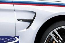 Original BMW M PERFORMANCE Zierstäbe Ziergitter Seite F82 F83 M4 schwarz black