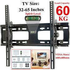 TV Wall Bracket Mount Tilt For 32 35 40 42 50 52 55 60 65 Inch 3D Plasma LCD LED
