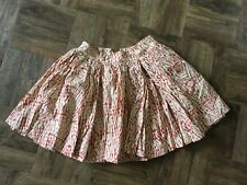 Carin Wester High Waisted Full Skirt with Copper Zip Size M