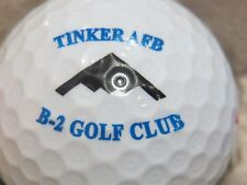 TINKER AIR FORCE BASE COUNTRY CLUB GOLF COURSE LOGO GOLF BALL