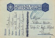 3051) WW2 AVIAZIONE, BOLLO 1 REGGIMENTO AVIERI CASERMA SAN MICHELE ROMA.