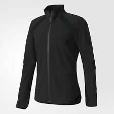 NEW! Adidas Ultra Rugby Men's Running Jacket BK7357 Color Black Size Medium