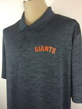 New MLB San Francisco Giants Button Front Short Sleeve Casual  Shirt Size 2XL