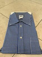 LACOSTE Men's Large (Size 42) Long-Sleeve Button-Down Shirt, MADE IN FRANCE, EUC