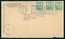 Mayfairstamps New Zealand 1942 Wellington to Joliet IL Censored WWII Cover wwp79