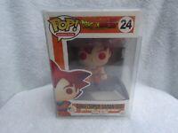 Funko Pop Goku {Super Saiyan God} Dragonball Z & Pop Protector