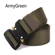 Adjustable Mens Military Waist Belt Combat Straps Tactical Outdoor Rescue CB