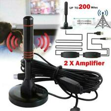 HD 1080P Digital Indoor Amplified TV Antenna HDTV with Amplifier VHF/UHF 200Mile