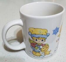 Precious Moments Mug Cup 8-10 oz 2008 Winter Kids Sherwood Brands Mw Dw Safe