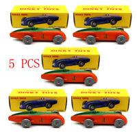 Set of 5 pcs Atlas 1:43 Dinky Toys 23A AUTO DE COURSE #4 Cars Models Diecast
