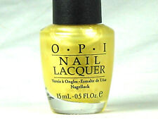 Opi Nail Polish A Little Less Conversation A93 Discontinued Yellow