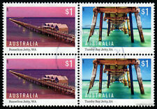 2017 Jetties Block Fine Used Stamps Australia