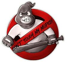 Don't Touch My Moped! Aufkleber Sticker JDM Oldschool Tuning