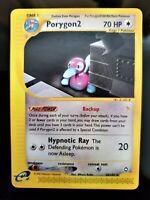 Pokemon Porygon2 28/147 Aquapolis RARE Card Near Mint