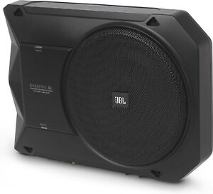 """NEW JBL BASSPRO-SL 8"""" Compact Powered Under-Seat Subwoofer Enclosure, 125W RMS"""