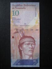 VENEZUELA 2007 BOLIVARES emissione - 10 - 29.10.13 - nero gufo-UNC