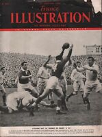 France Illustration Le Monde Illustre January 1950 L'ecosse Bat Rugby 101718DBE