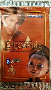 The Adventures of Pinocchio Trading Cards OVP Sammelkarten 8 Karten 1996