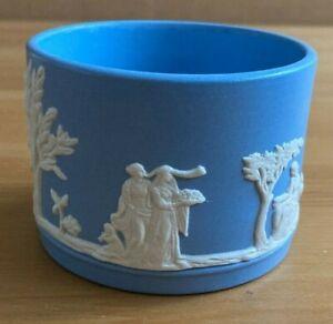 DUDSON HANLEY - JASPER WARE PALE BLUE SMALL BOWL / POT