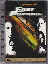 DVD - Fast and Furious - Paul Walker Vin Diesel - Jewel Box