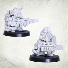 Dvergr Commando Special Weapon Squat Space Dwarf Zwerge Kromlech Resin KRM097