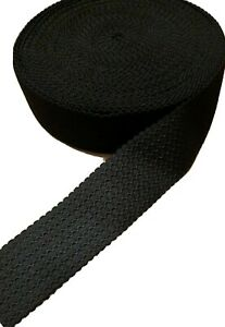 2 Yards Wide Black Wavy Stretch Elastic Waistbands, Cuffs Sewing  Multipurpose